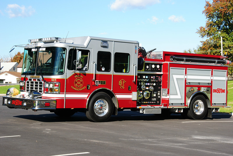 Bristol Consolidated Fire Company Engine 501