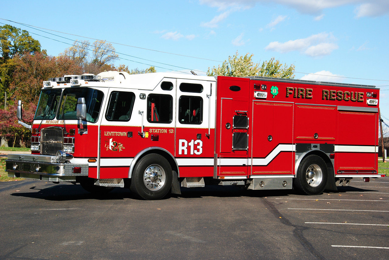 Levittown Fire Company #2, Bristol Twp Rescue 13