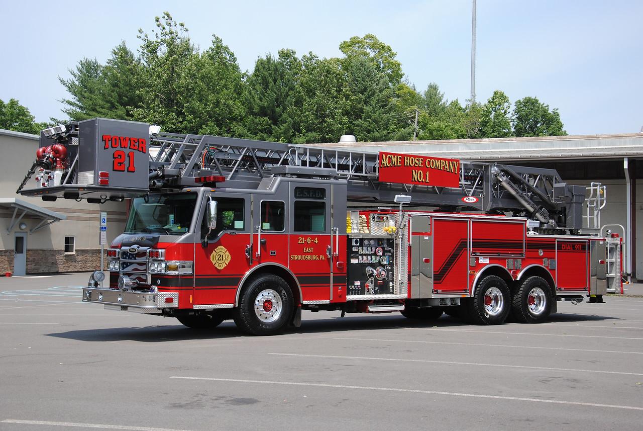 ACME Hose Company #1, East Stroudsburg Tower 21-3