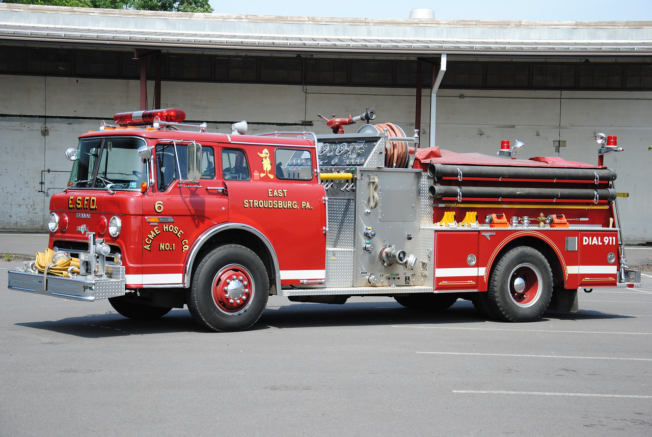 ACME Hose Company #1, East Stroudsburg Engine 21-6
