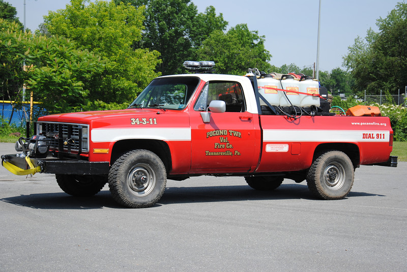 Pocono Twp Fire Company Brush 34-2