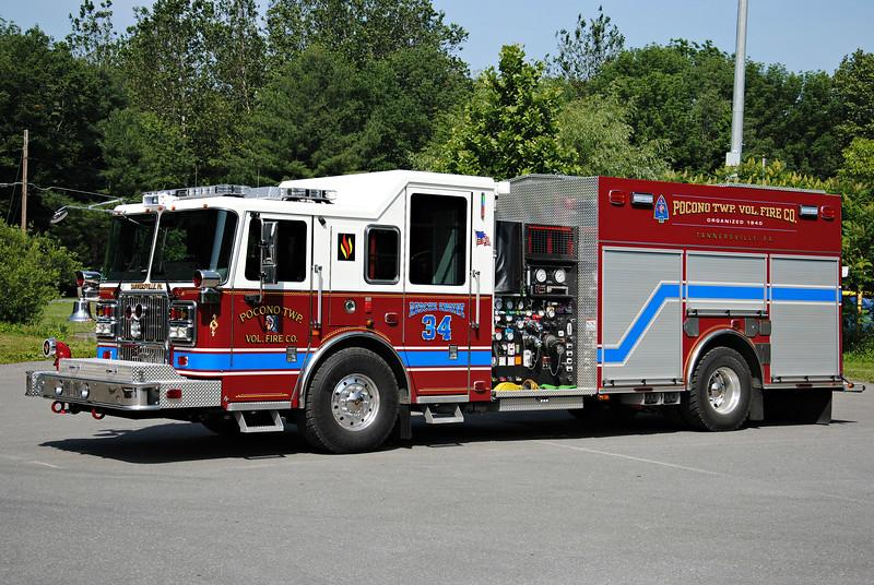 Pocono Twp Fire Company Rescue-Engine 34