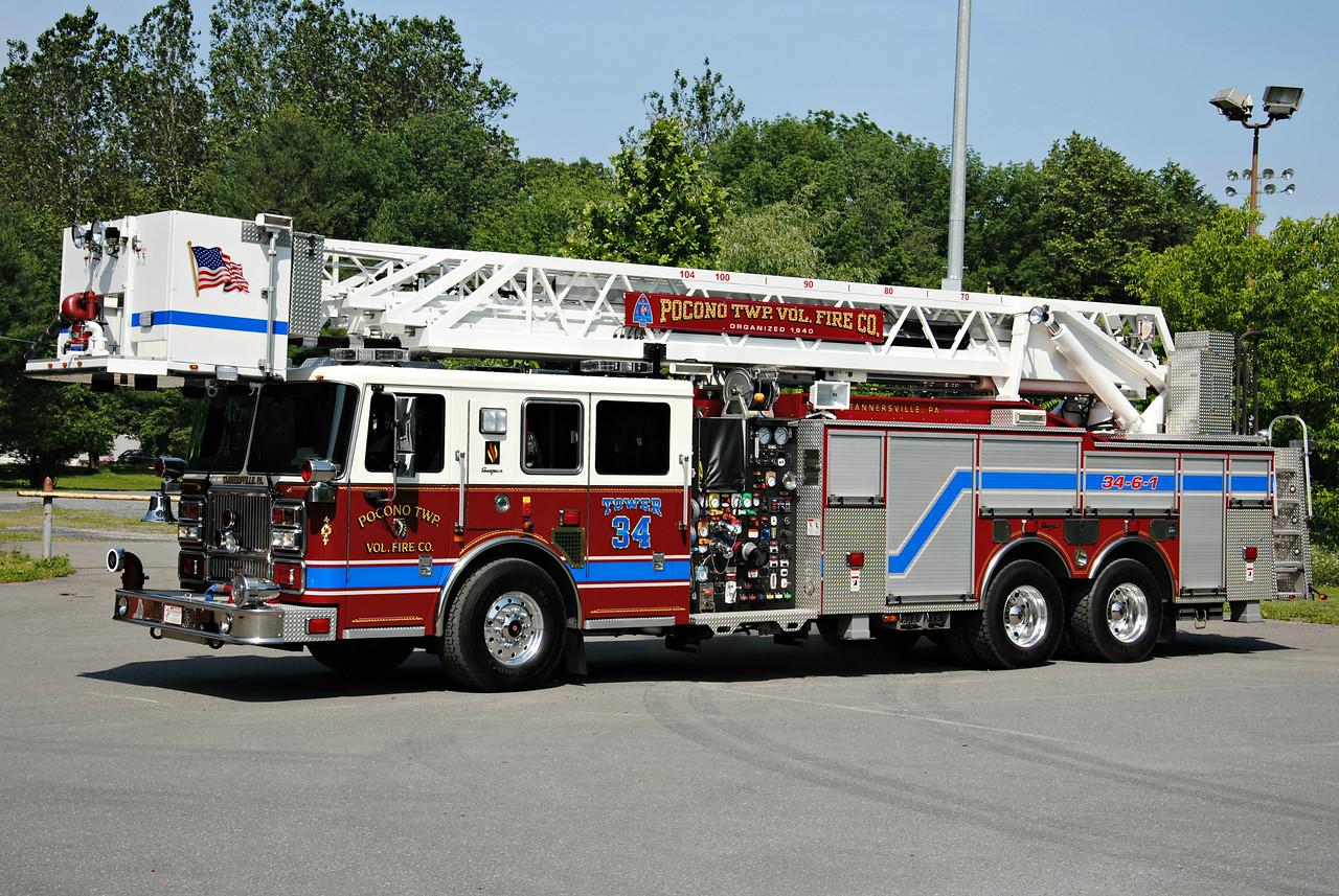 Pocono Twp Fire Company, Tannersville Tower 34