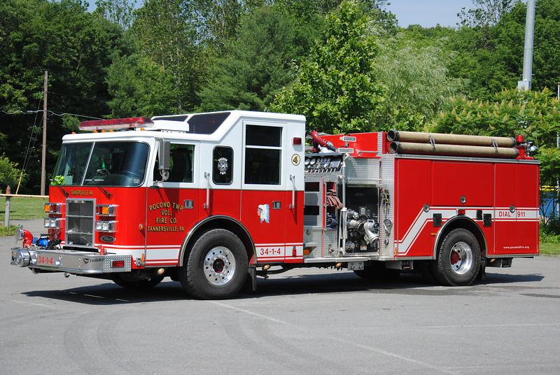 Pocono Twp Fire Company Engine 34