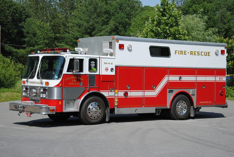 Pocono Twp Fire Company Rescue 34
