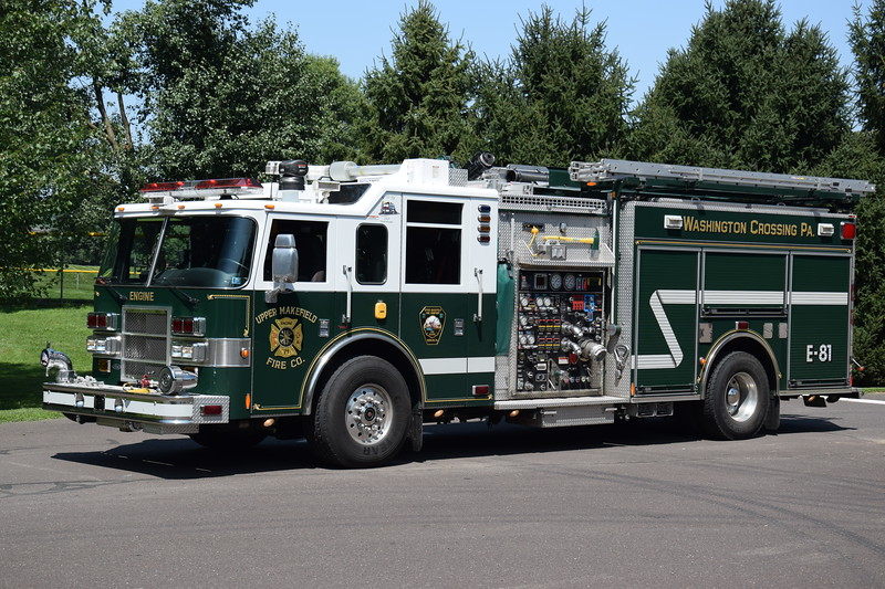 Upper Makefield Fire Company Engine 81
