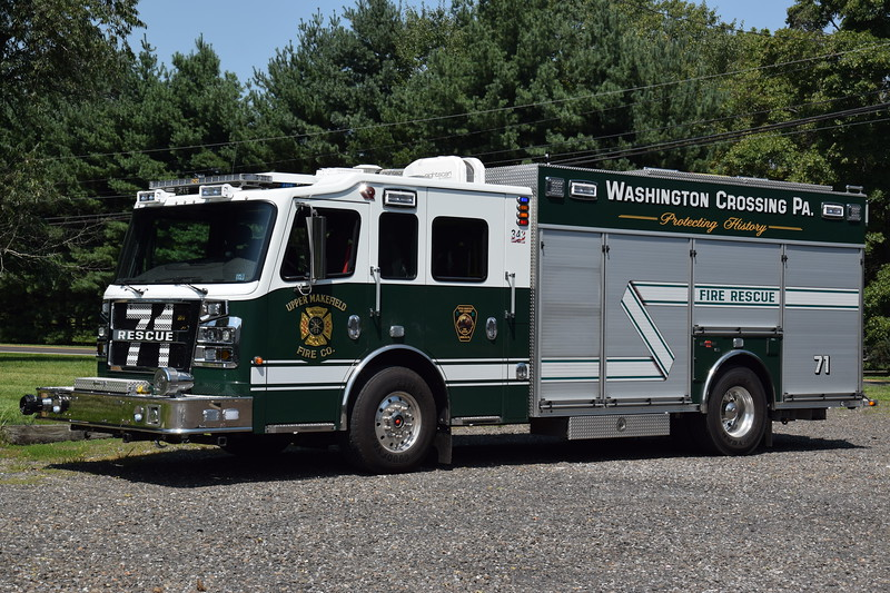 Upper Makefield Fire Company Rescue 71