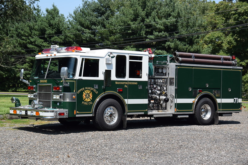 Upper Makefield Fire Company Engine 71