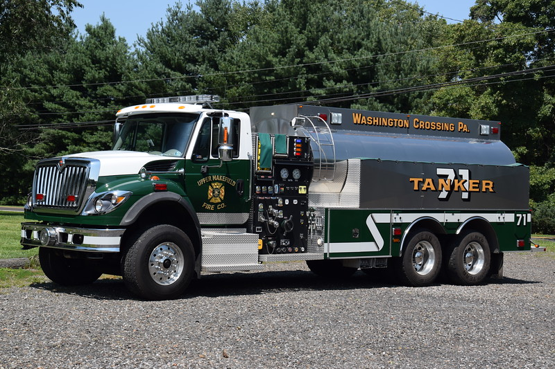 Upper Makefield Fire Company Tanker 71