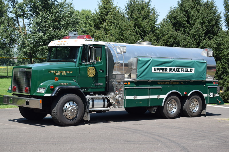 Upper Makefield Fire Company Tanker 81