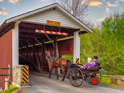 Courting in an Open Buggy