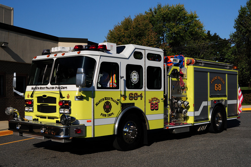 Marcus Hook Fire  Co  Engine  68-1  2009 Emergency-One  1500/ 500