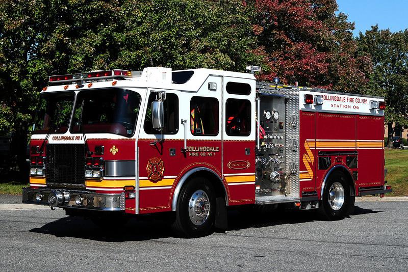 Collingdale  Fire Co   Engine  06-1 2003 Saulisbury  Rescue Engine  1750/ 500