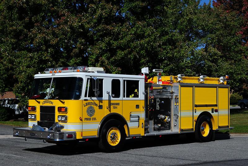 Leedom Fire Co   Engine  70-1  1998  Pierce  Saber  1250/ 750