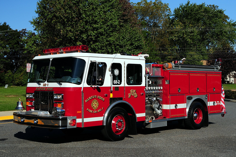 Marcus Hook  Fire Co  Engine 68-2  1992  Emergency-One   1250/ 500