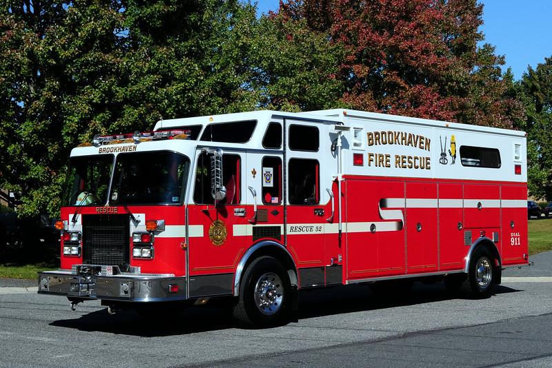 Brookhaven Fire Co   Rescue  52   1992 Spartan/ EEI