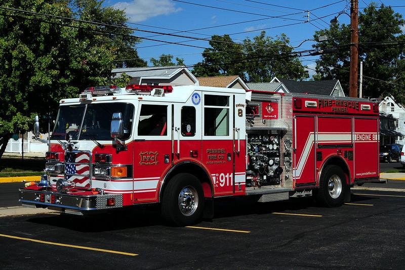 Penndel Fire Co  Engine 8 2004 Pierce Enforcer  1250/ 500