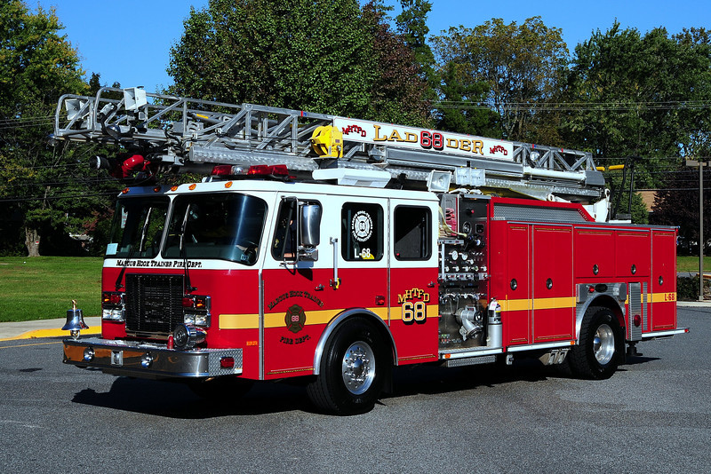 Marcus Hook Fire Co  Ladder 68  1999 Emergency- One  1500/ 500 / 75 ft