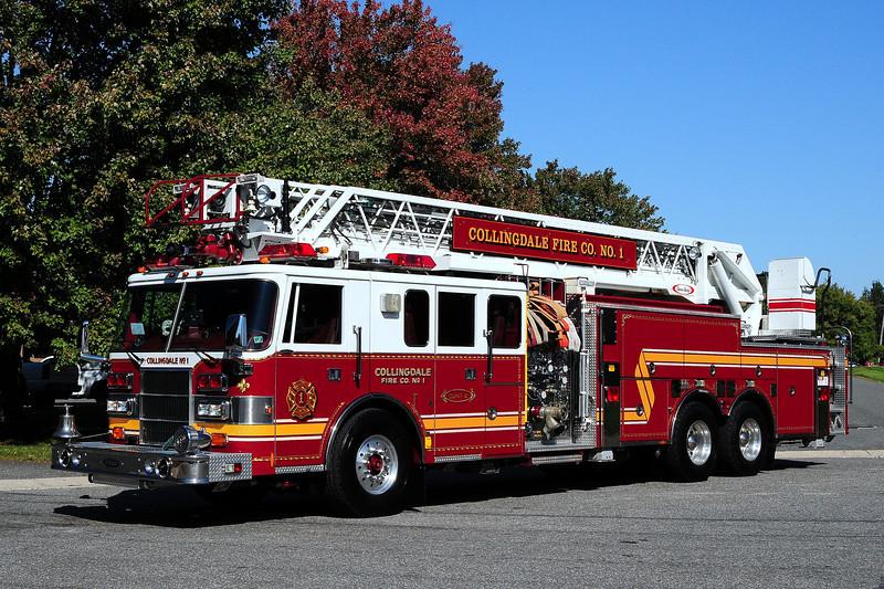 Collingdale Fire Co  Quint 6  1995 Pierce  Lance  2000/ 400 / 105 ft