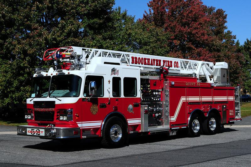 Brookhaven Fire Co  Quint 52   2008 Smeal  1250/ 600 / 75ft