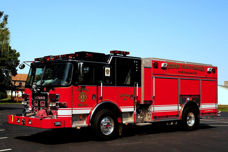 Ogden Fire Dept  Squad  55  2010 Pierce Arrow XT PUC  1500/ 750 / 30