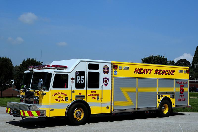 Lincolnway Fire Co  Rescue 5  2007  KME Predator