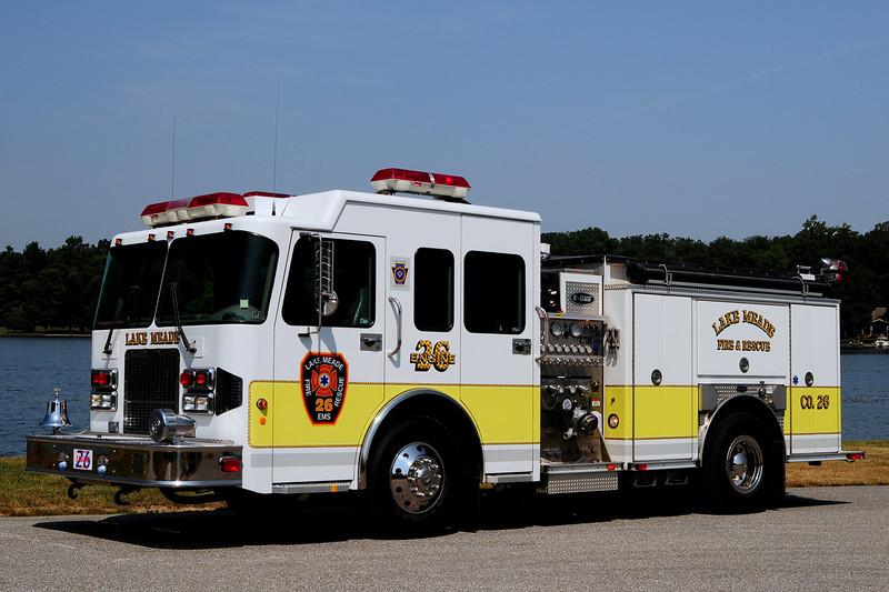 Lake  Meade   Engine  26   2001  Spartan/ Emergency-One   1500/ 750