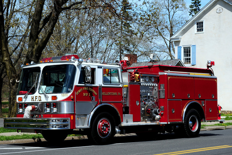 Dewey Fire Co #1   Engine  1311  1989 Hahn   1000/ 500  #HCP101905889