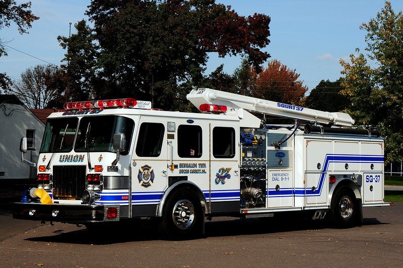 Union Fire Co   Squirt  37  1996  Emergency-One  1500 / 500 / 35 ft    Ex- Cherry Hill Nj