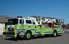 Hazle Twp, Pa  Ladder 105  1983 Mack CF/ Baker  Aerilscope  95ft Replaced in  2008