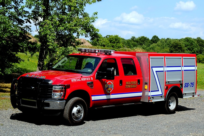 Milford Twp Fire Dept   Special Service 75  2008 Ford F-350
