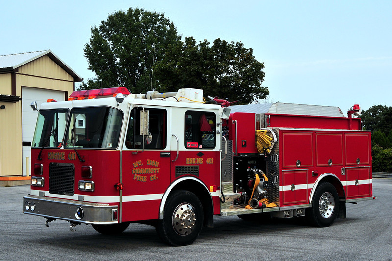 Mt  Zuion Fire Co  Engine  401  1992  Spartan / Darley  1250/ 1000
