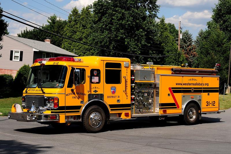 Wewstern Salisbury Fire Dept  Engine  31-12  1998 American La France  1250/ 750