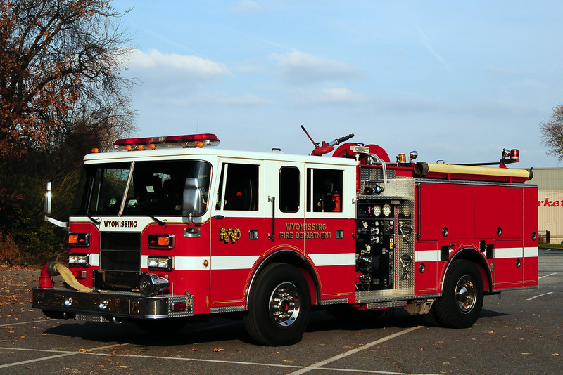 Wyomissing  Fire Dept   Engine  79-1  194  Pierce Saber  1500/ 500