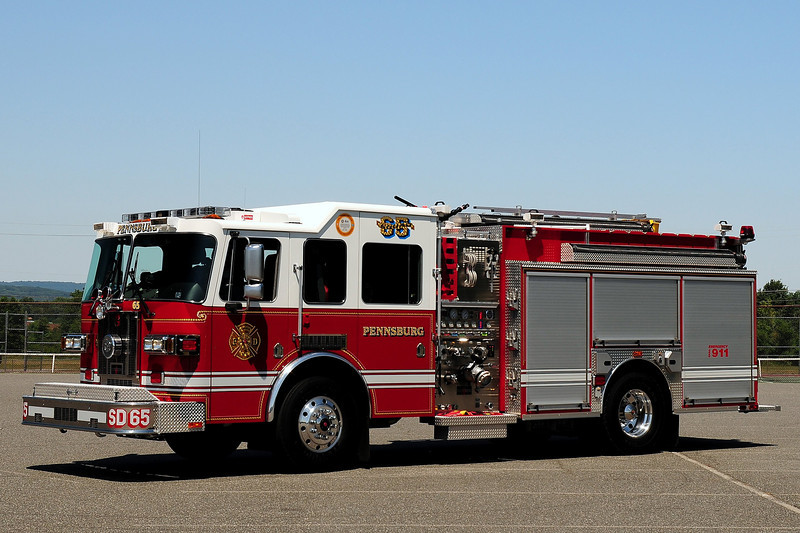Pennsburg Fire Co   Squad  56  2008 Sutphen  Rescue Engine  1500/ 1000/ 30 class A foam