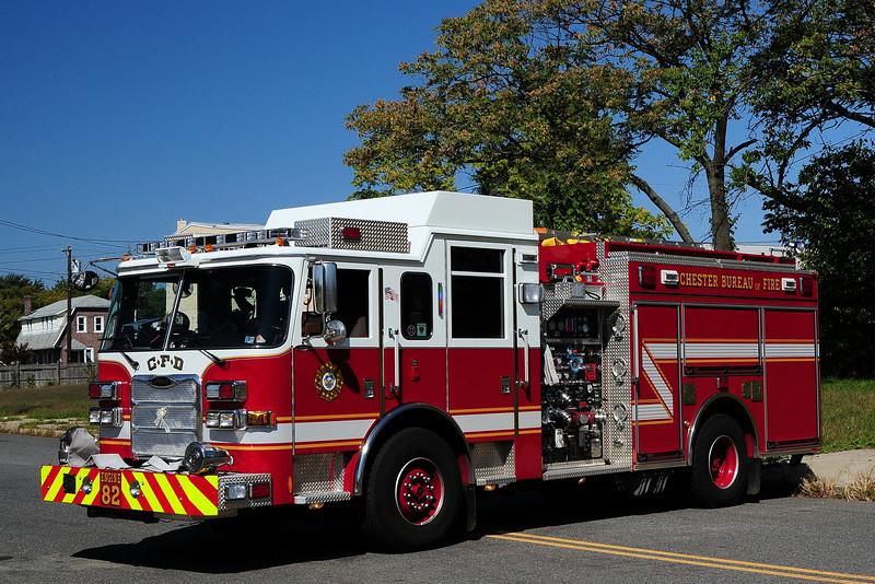 Chester Fire Dept   Engine 82  2009  Pierce Arrow XT 1750/ 750/ 30