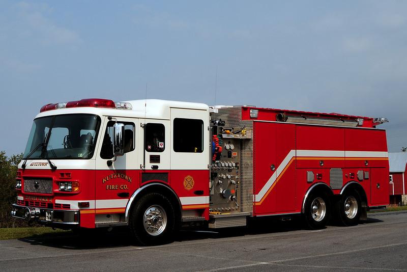Kutztown Fire Co   Engine Tanker  32  2004  American LaFrance  1500/ 2000