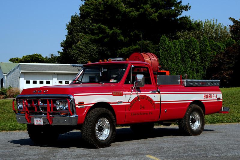 Caernavon Fire Co     Brush  34  1971 GMC 2500  250/ 250