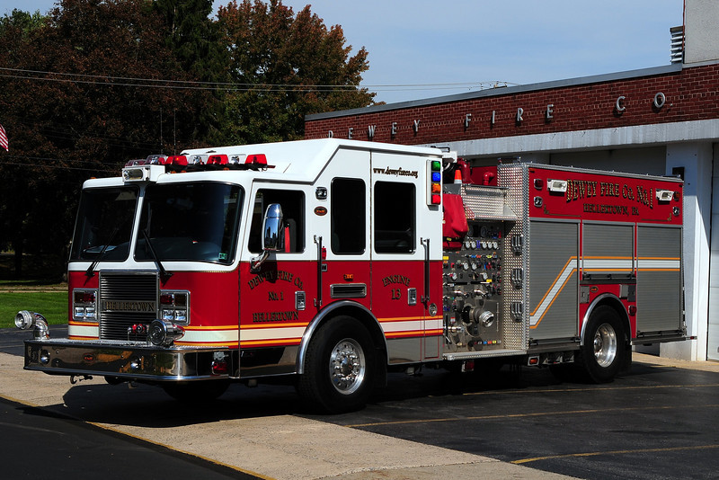 Dewey Fire Co  ENGINE 13 - 2005 KME Predator 1500/ 750/ 50