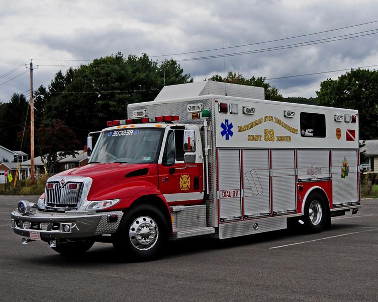 Matamoras  Rescue  32  2001 International  Rescue-1 Body