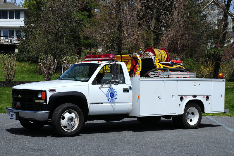 Fountain  Hill  Fire Dept  Brush  3471   2008  Chevy 3500/ Knapheide  250/  300