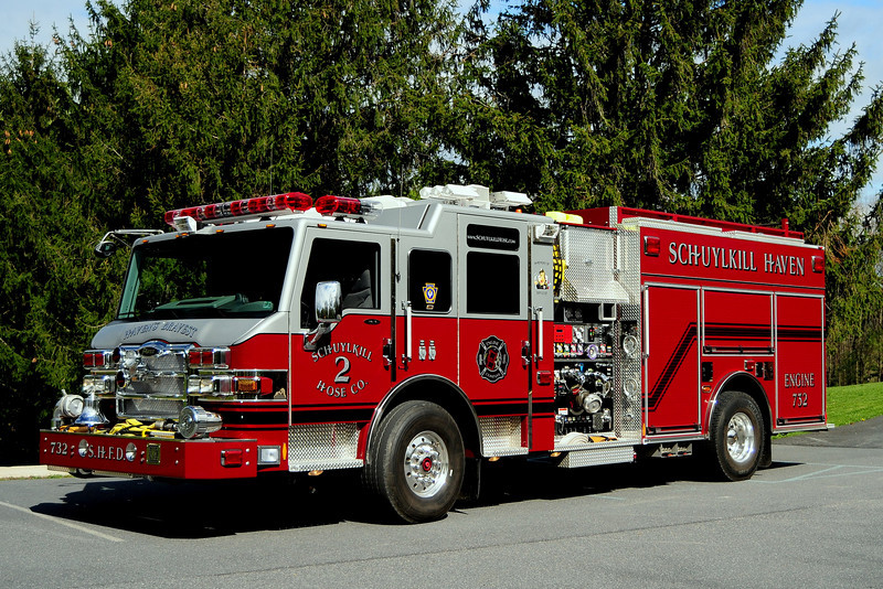 Schuylkill Haven, Pa  Engine 732 Haven's Bravest   2008 Pierce Velocity  2000/1000/30