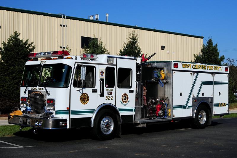 West Chester Fire dept   Engine  52-2  1995 Spartan / Saulsbury  2000/ 750/ 30