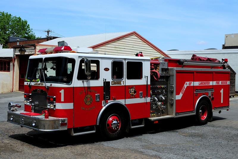 City  of  Lancaster,  Pa  Engine  1  1999 KME 1500/ 500