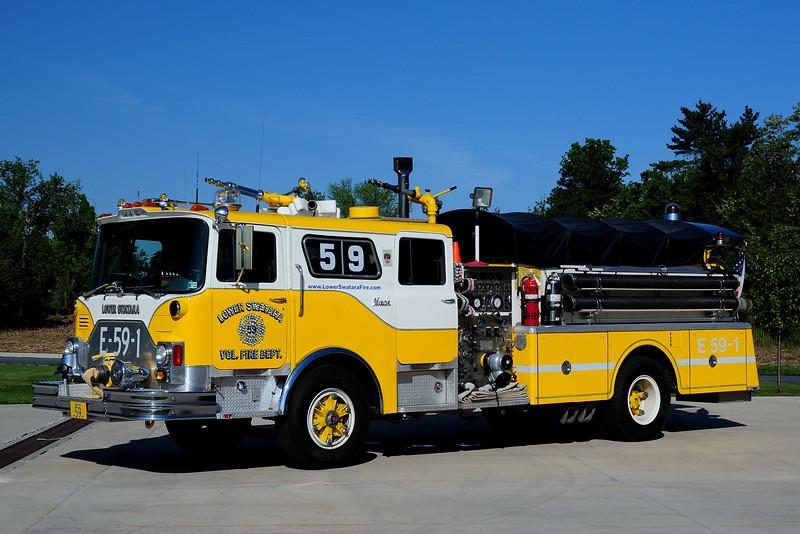 Lower Swatara  Township   Engine  59-1  1978 Mack  CF  1000/ 750