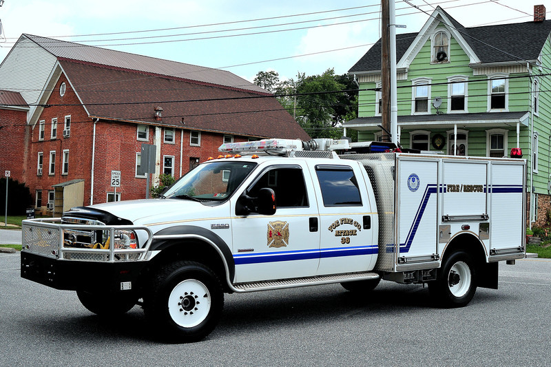 Yoe Fire Company    Attack  36  Ford  F-550  Firematic    300/ 270
