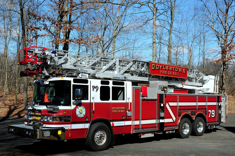 Doylestown Fire Co#1   Ladder  79   2009  Pierce  Quantum  1500/ 500  100 Ft