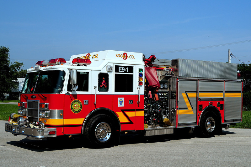 Dover Twp Fire Dept   Engine   9-1  2001  Pierce  Dash  2000/ 750 40  Foam