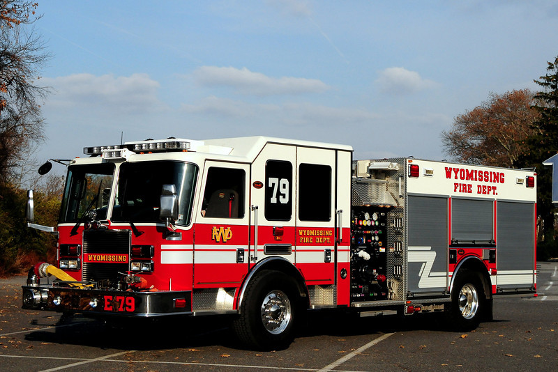 Wyomissing Fire Dept  Engine  79  2009  KME Predator  1500/ 500 / 30