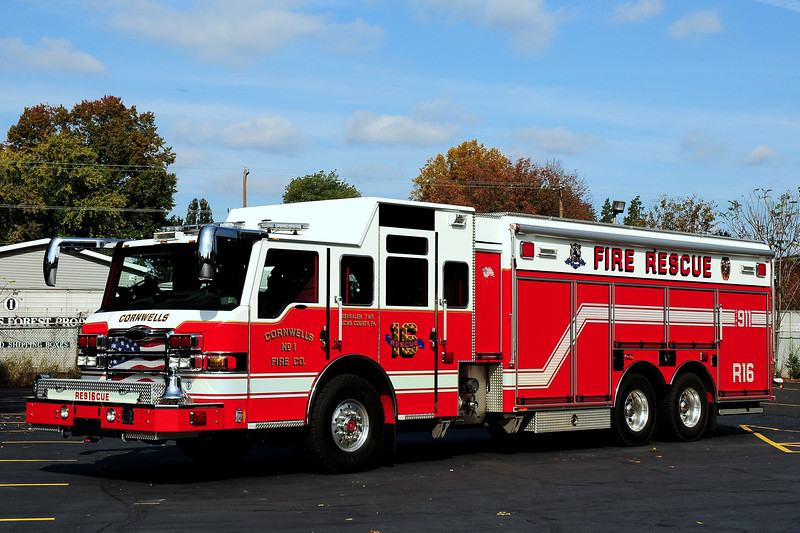 Cornwells Fire Co  Rescue  16   2009  Pierce  Velocity  PUC  1500 / 500